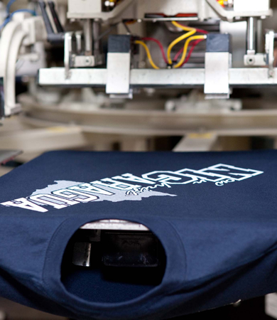 SCREEN PRINTED & EMBROIDERED APPAREL